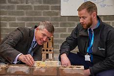 Scottish Lib Dem leader Willie Rennie visits college, Glenrothes, 19 November 2019