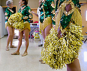 UNITED STATES-SUN CITY-The Sun City Poms, a group of cheerleaders in retirement community Sun City. VERENIGDE STATEN-SUN CITY- De Sun City Poms een groep cheerleaders in ouderenstad Sun City. COPYRIGHT GERRIT DE HEUS
