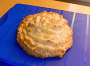 Kokosmakronen / kokosmagrönli / coconut macaroon. Hike from Pfingstegg lift station to Berghaus Bäregg, above Grindelwald, Switzerland, the Alps, Europe.