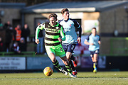 Forest Green Rovers Dayle Grubb(8) runs forward during the EFL Sky Bet League 2 match between Forest Green Rovers and Crawley Town at the New Lawn, Forest Green, United Kingdom on 24 February 2018. Picture by Shane Healey.