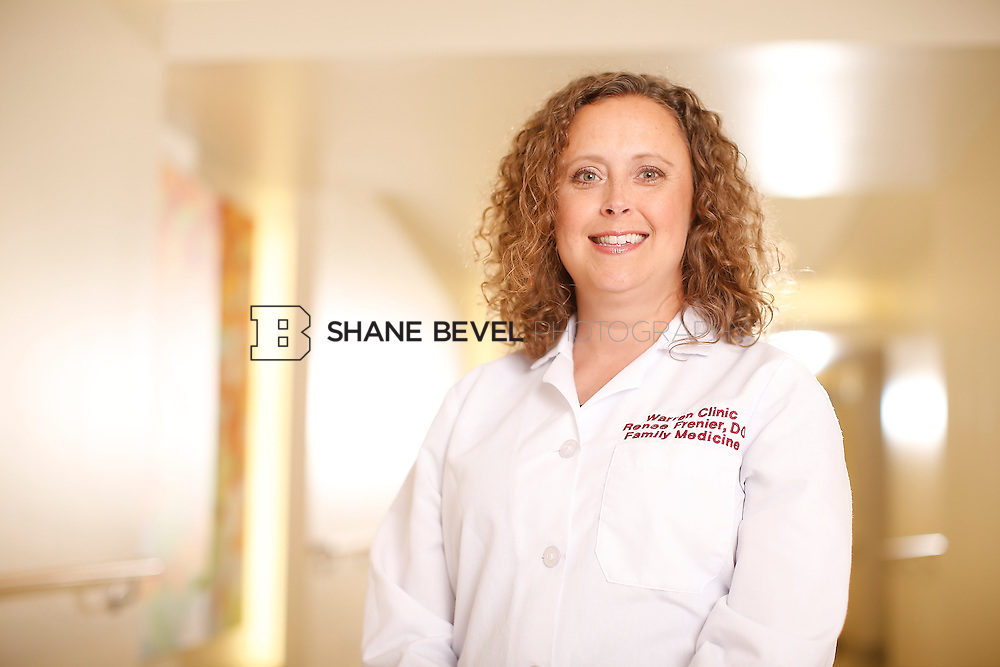 5/28/15 4:13:49 PM -- Dr. Renee Frenier of Saint Francis Health System poses for a portrait for the 2015 Advertising Campaign. <br /> <br /> Photo by Shane Bevel