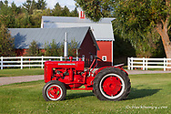1942 Hebard Shop Mule A-14 Tractor restored by Dan Tomrink of Columbia Falls, Montana, USA