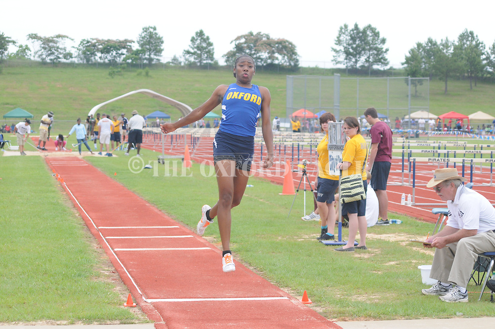 Oxford High in the state track meet in Pearl, Miss. on Friday, May 11, 2012.