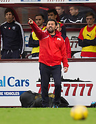 Dundee manager Paul Hartley - Hearts v Dundee, Ladbrokes Scottish Premiership at Tynecastle, Edinburgh. Photo: David Young<br /> <br />  - &copy; David Young - www.davidyoungphoto.co.uk - email: davidyoungphoto@gmail.com