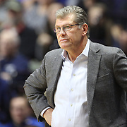 UNCASVILLE, CONNECTICUT- DECEMBER 4:  Head coach Geno Auriemma of the Connecticut Huskies on the sideline during the UConn Huskies Vs Texas Longhorns, NCAA Women's Basketball game in the Jimmy V Classic on December 4th, 2016 at the Mohegan Sun Arena, Uncasville, Connecticut. (Photo by Tim Clayton/Corbis via Getty Images)