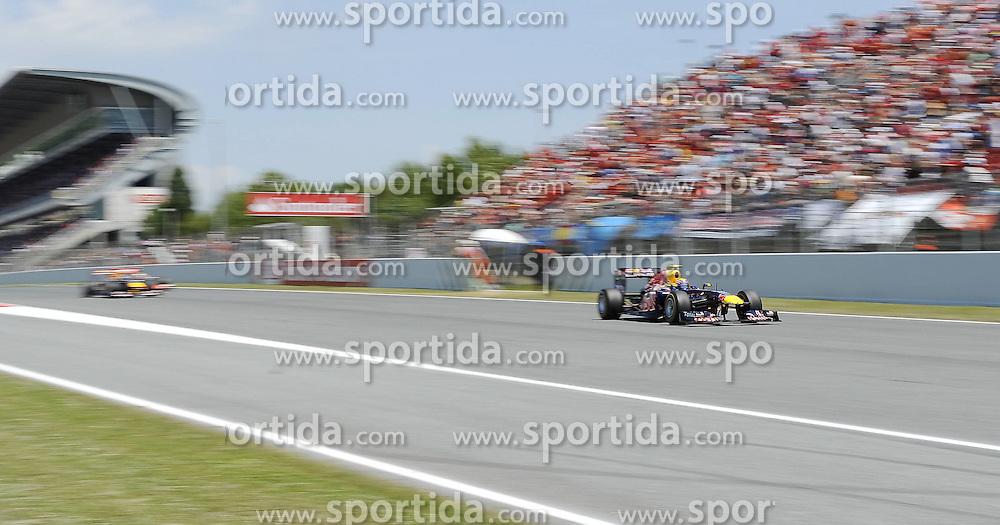 22.05.2011, Circuit de Catalunya, Barcelona, ESP, Großer Preis von Spanien / Barcelona, RACE 05, im Bild  Mark Webber (AUS), Red Bull Racing    EXPA Pictures © 2011, PhotoCredit: EXPA/ nph/  Dieter Mathis (bitte als Fotovermerk angeben)        ****** only for AUT, POL & SLO ******