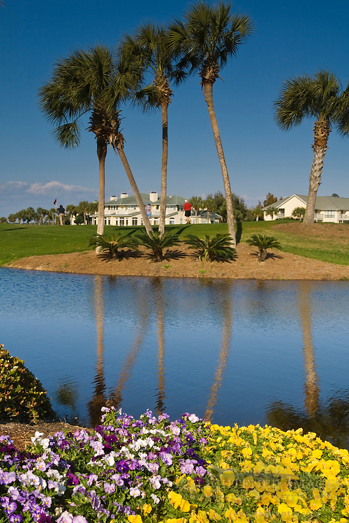 Homes and golf course at The Sandestin Golf & Beach Resort, Destin, Florida