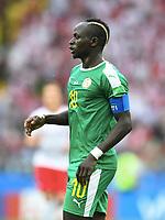 Sadio Mane (Senegal)<br /> Moskau, 19.06.2018, FIFA Fussball WM 2018 in Russland, Vorrunde, Polen - Senegal 1:2