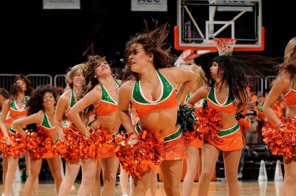 2013 Miami Hurricanes Women's Basketball vs Tennessee