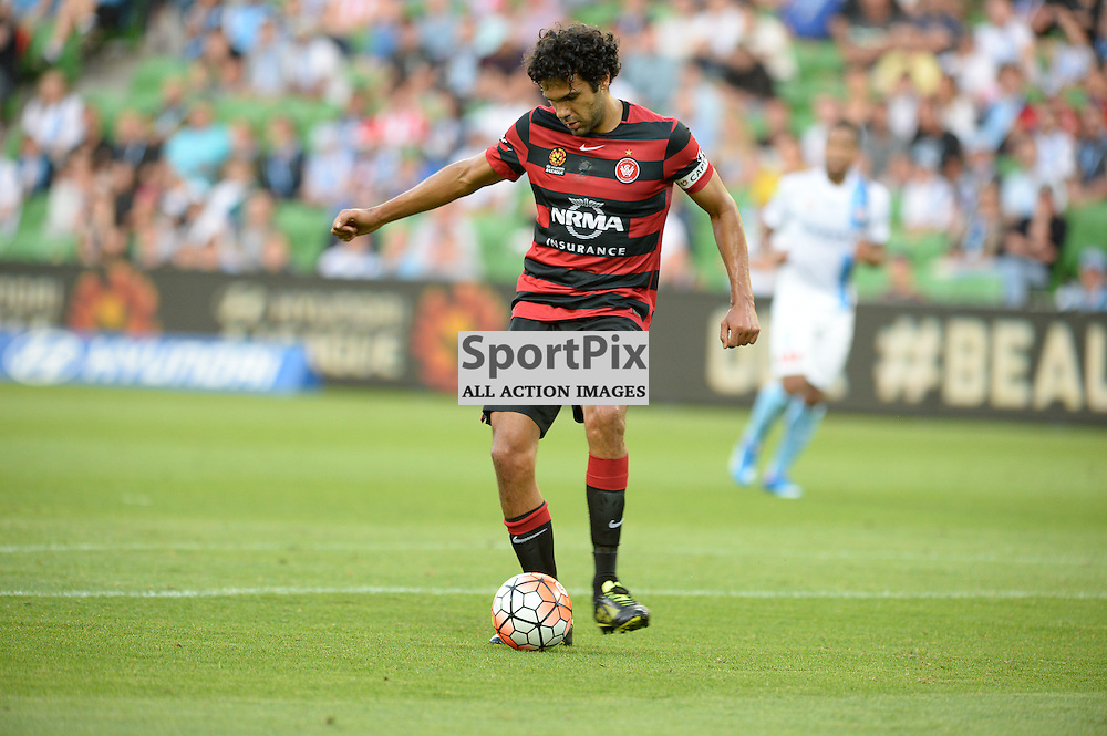 Nikolai Topor-Stanley of Western Sydney Wanderers FC - Hyundai A-League, January 9th 2016, RD14 match between Melbourne City FC v Western Sydney Wanderers FC at Aami Park in a 3:2 win to City. Melbourne, Australia. © Mark Avellino | SportPix.org.uk