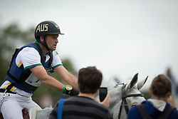 Stuart Tinney, (AUS), Pluto Mio - Eventing Cross Country test - Alltech FEI World Equestrian Games™ 2014 - Normandy, France.<br /> © Hippo Foto Team - Dirk Caremans<br /> 31/08/14
