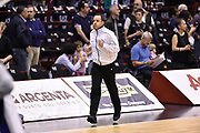 DESCRIZIONE : Milano Lega A 2014-15 <br /> EA7 Olimpia Milano - Acea Virtus Roma <br /> GIOCATORE : <br /> CATEGORIA : arbitro pre game riscaldamento<br /> SQUADRA : EA7 Olimpia Milano<br /> EVENTO : Campionato Lega A 2014-2015 <br /> GARA : EA7 Olimpia Milano - Acea Virtus Roma<br /> DATA : 12/04/2015<br /> SPORT : Pallacanestro <br /> AUTORE : Agenzia Ciamillo-Castoria/GiulioCiamillo<br /> Galleria : Lega Basket A 2014-2015  <br /> Fotonotizia : Milano Lega A 2014-15 EA7 Olimpia Milano - Acea Virtus Roma