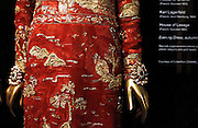 """Inside the """"China: Through the Looking Glass"""" exhibit at the The Costume Institute in The Metropolitan Museum of Art in New York City, New York on May 04, 2015."""