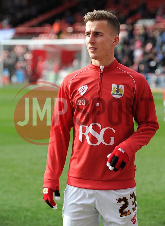 Bristol City's Joe Bryan - Photo mandatory by-line: Paul Knight/JMP - Mobile: 07966 386802 - 28/02/2015 - SPORT - Football - Bristol - Ashton Gate Stadium - Bristol City v Rochdale - Sky Bet League One