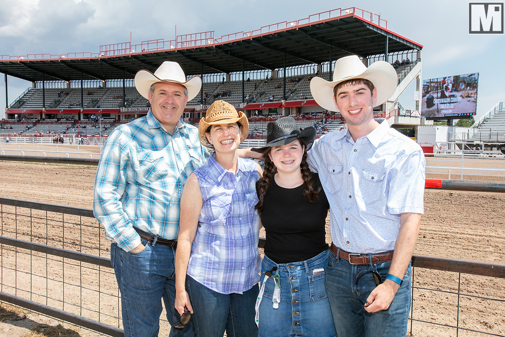 Bank of the West at the Cheyenne Frontier Days Rodeo