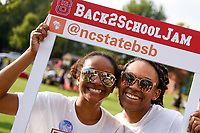 Welcome Week activites bringing students onto campus for the start of the fall semester include the Back2School Jam.