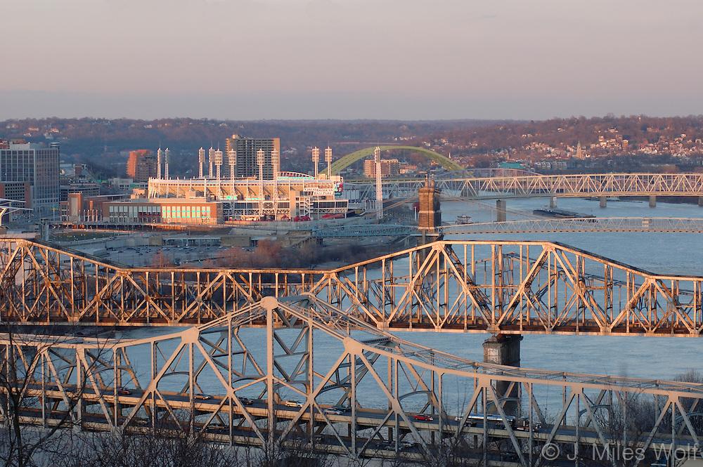 Cincinnati Ohio River Bridges