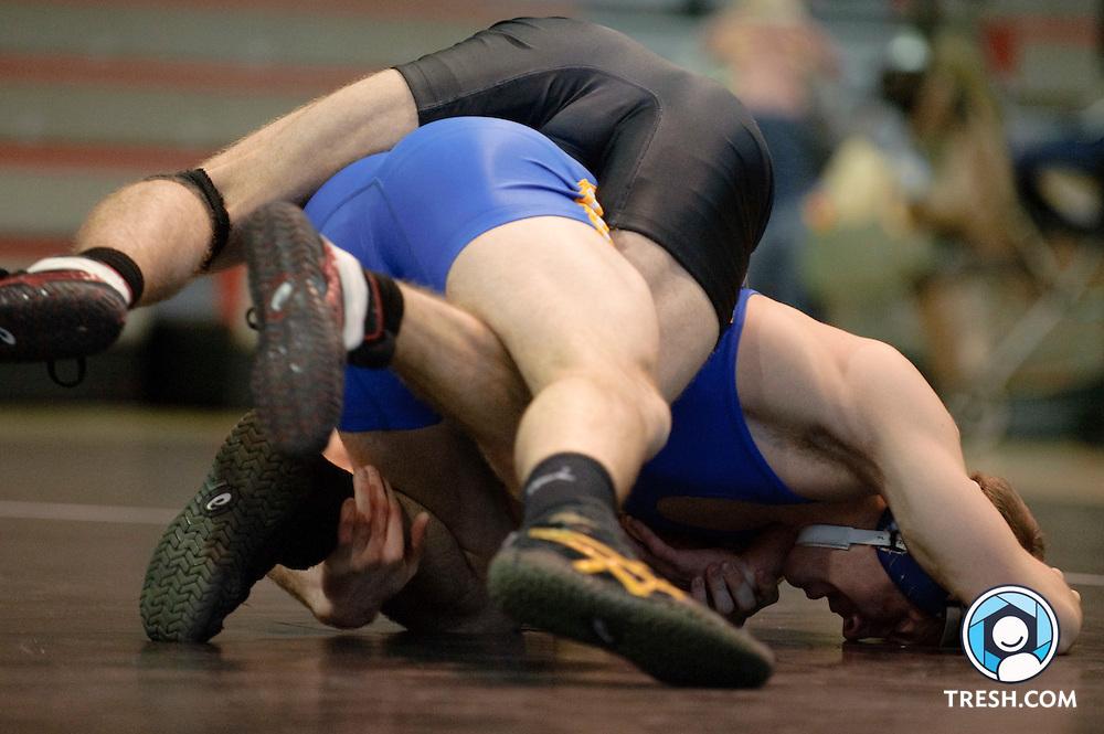 Images from University of Maryland Wrestling's 34-6 win over Hofstra Sunday, February 14, 2010.