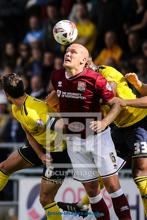 Ryan Cresswell of Northampton Town  during the Sky Bet League 2 match at Sixfields Stadium, Northampton<br /> Picture by Andy Kearns/Focus Images Ltd 0781 864 4264<br /> 12/09/2015