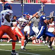 Hampton vs Morgan State football game at Giants Stadium.