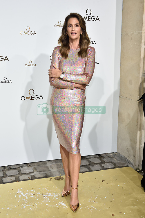Cindy Crawford attending Her Time Omega photocall as part of the Paris Fashion Week Womenswear Spring/Summer 2018 on September 29, 2017 in Paris, France. Photo by Alban Wyters/ABACAPRESS.COM