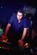 DJ Terry Francis dj'ing at World DJ Day Fabric London March 2002