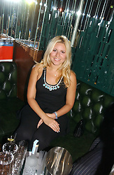 BEVERLEY BLOOM at a party hosted by Allegra Hicks and Melissa Del Bono to celebrate the opening of Volstead, Swallow Street, London W1 on 4th May 2006.<br />
