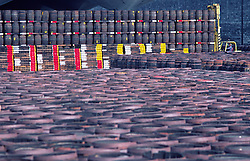 Beverage Barrels Storage Yard