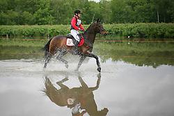 Van Mieghem Greet (BEL) - Alaric de Lauzelle<br /> Nationaal Kampioenschap LRV  Minderhout 2009<br /> © Hippo Foto - Leanjo De Koster