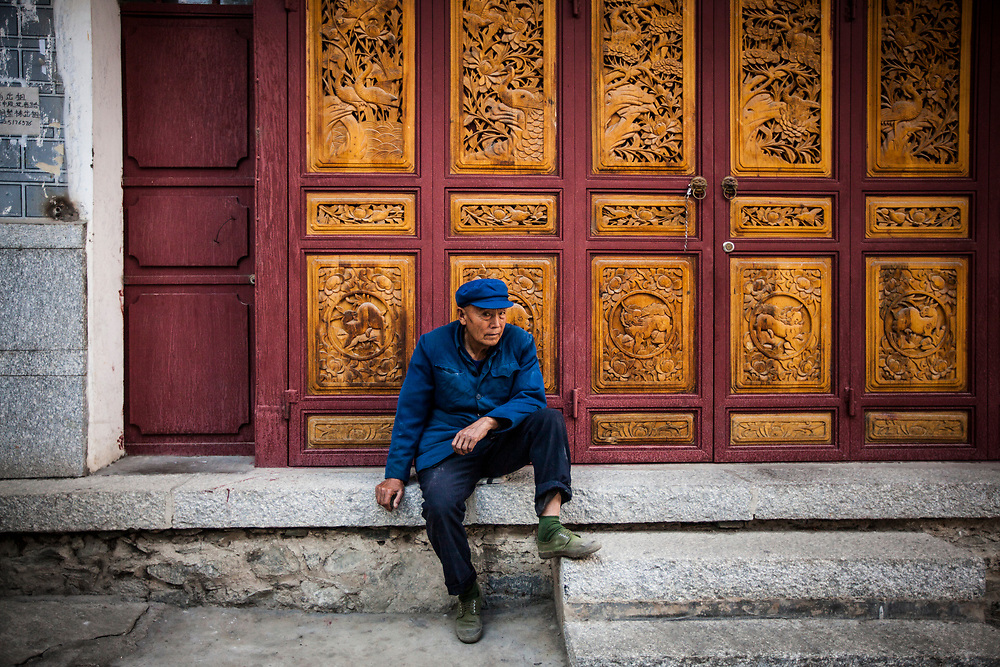 An older Chinese man in Dali, China.