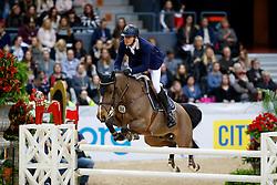 Almeida Antonio, POR, Hassan can de Wittemoere<br /> Gothenburg Horse Show FEI World Cups 2017<br /> © Hippo Foto - Stefan Lafrentz<br /> 24/02/17