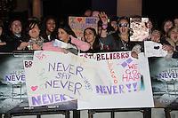 Justin Bieber fans Justin Bieber: Never Say Never European Premiere, O2 Cineworld, London, UK, 16 February 2011: Contact: Ian@Piqtured.com +44(0)791 626 2580 (Picture by Richard Goldschmidt)