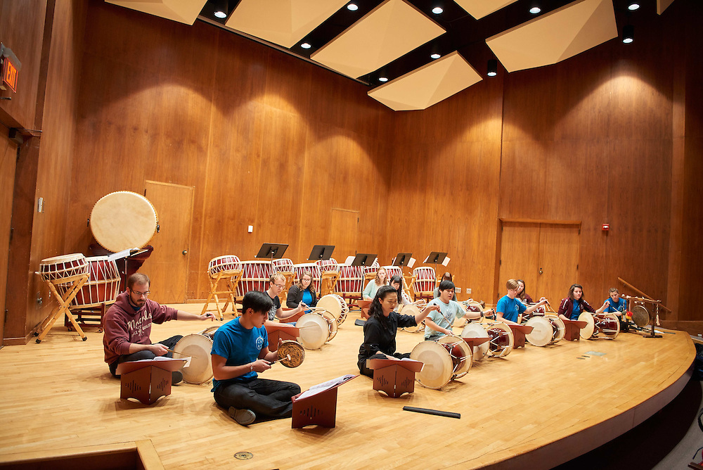 -UWL UW-L UW-La Crosse University of Wisconsin-La Crosse; Band; Candid; Center for the ArtsCFA; Daytime; Diversity; Group; Inside; Man men; Music; November; Professor; Woman women