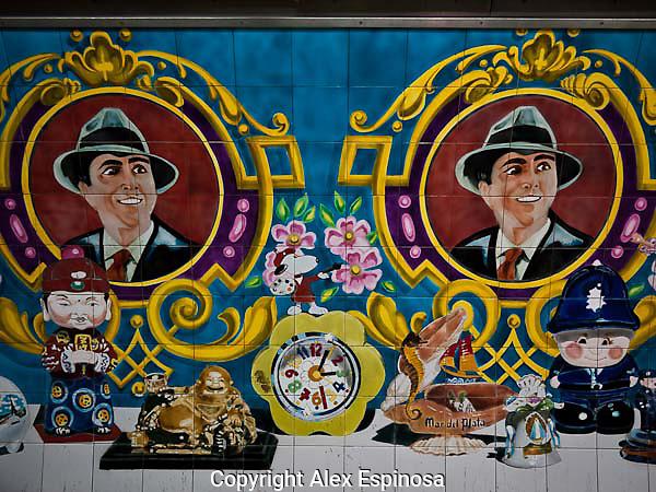 Carlos Gardel subte station, Abasto