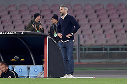 March 7, 2019 - Naples, Naples, Italy - Head Coach of RB Salzburg Marco Rose during the UEFA Europa League match between SSC Napoli and RB Salzburg at Stadio San Paolo Naples Italy on 7 March 2019. (Credit Image: © Franco Romano/NurPhoto via ZUMA Press)