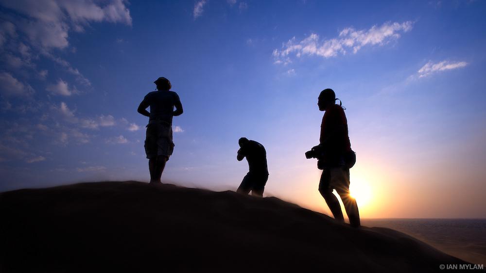 Sundown in the Arabian Desert - U.A.E.