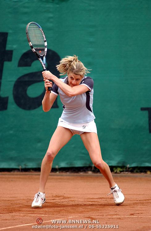 NLD/Hilversum/20050607 - Eredivisie tennis 2005, Martina Sucha