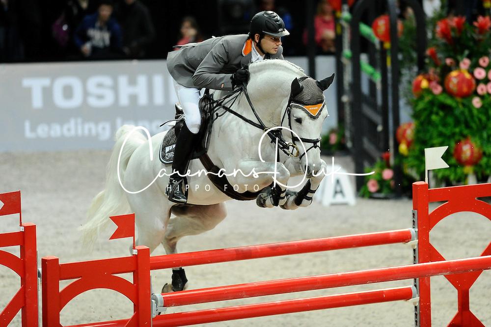 Kutscher Marco (GER) - Cornet Obolensky<br /> Winner of the Rolex FEI World Cup qualifier - Zurich 2012<br /> &copy; Hippo Foto - Cealy Tetly