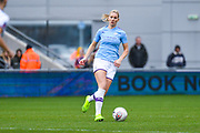 Manchester City Women defender Gemma Bonner (4) in action during the FA Women's Super League match between Manchester City Women and West Ham United Women at the Sport City Academy Stadium, Manchester, United Kingdom on 17 November 2019.