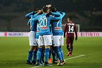 15.12.2017 - Torino - Serie A 2017-18 - 17a giornata  -  Torino-Napoli  nella  foto: L'esultanza dei giocatori del Napoli