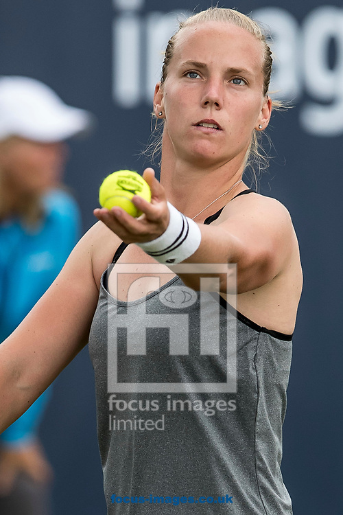 Richel Hogenkamp (NED) on day two of the Ricoh Open Tennis Tournament at the Autotron, Rosmalen, Netherlands.<br /> Picture by Joep Joseph Leenen/Focus Images Ltd +316 5261929<br /> 13/06/2017<br /> ***NETHERLANDS OUT***