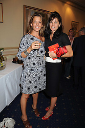 Left to right, TANIA FOSTER-BROWN and LUCY TANG at a party to celebrate the publication on 'Unsuitable' by Suzy Parsons held at St.Stephen's Club, 34 Queen Anne's Gate, London SW1 on 19th June 2008<br />