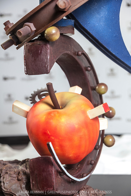 Chris Kwok's Artistic Showpiece. World Chocolate Masters Canadian Selection, January 20, 2013.