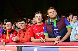 Bristol City fans look on - Mandatory by-line: Dougie Allward/JMP - 15/08/2017 - FOOTBALL - Griffin Park - Brentford, England - Brentford v Bristol City - Sky Bet Championship