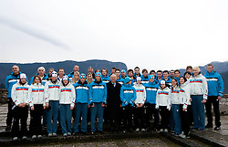 Presentation of Team Slovenia for 1st Winter Youth Olympic Games in Innsbruck, Austria from 13 to 22 January 2012, on January 4, 2012 in Bled, Slovenia. (Photo By Vid Ponikvar / Sportida.com)