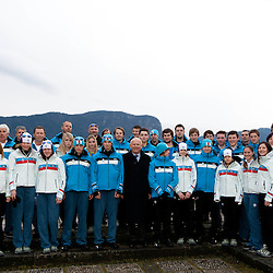 20120104: SLO, Olympic Games - Team Slovenia for 1st Winter Youth Olympic Games in Innsbruck, AUT