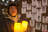 Vigil for Mexico's Missing Students
