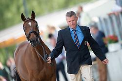 Dibowski Andreas, (GER), It's Me xx<br /> First Horse Inspection <br /> CCI4* Luhmuhlen 2016 <br /> © Hippo Foto - Jon Stroud