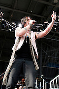 Hinder performing at Rock on the Range at Crew Stadium in Columbus, OH on May 21, 2011