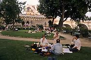 = picnic in the park,   square du vert Galant ile de la cite  Paris  France    +